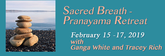 Sacred Breath Pranayama Retreat with Phoebe Diftler Feb 15-17