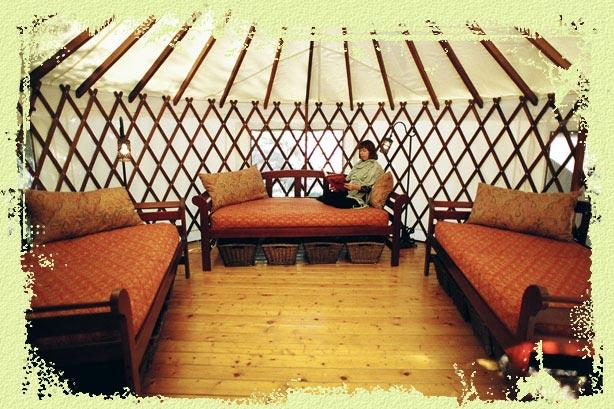 Interior Yurt